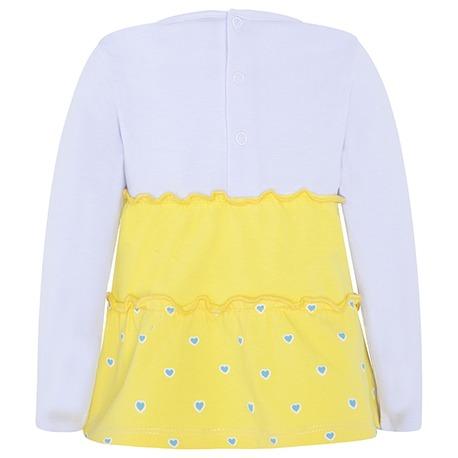 0cb3d614deeb ΜΑΚΡΥΜΑΝΙΚΟ ΛΕΥΚΟ T-SHIRT HAVANA ΚΟΡΙΤΣΙ - Fashion Cake Pops - Kids ...
